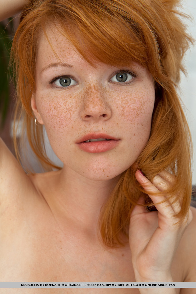 freckled redhead nude